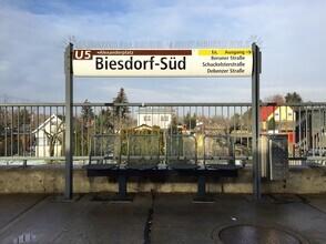 Claudio Galamini, U-Bahnhof Biesdorf-Süd (Deutschland, Europa)