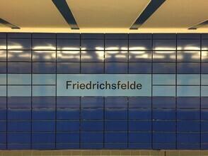 Claudio Galamini, U-Bahnhof Friedrichsfelde (Deutschland, Europa)