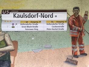 Claudio Galamini, U-Bahnhof Kaulsdorf-Nord (Deutschland, Europa)