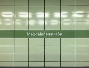 Claudio Galamini, U-Bahnhof Magdalenenstraße (Deutschland, Europa)