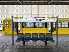 Claudio Galamini, U-Bahnhof Hönow (Deutschland, Europa)