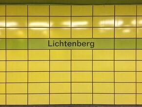 Claudio Galamini, U-Bahnhof Lichtenberg (Deutschland, Europa)