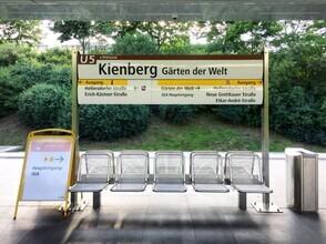 Claudio Galamini, U-Bahnhof Kienberg (Deutschland, Europa)
