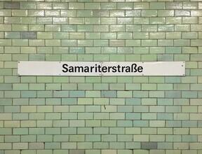 Claudio Galamini, U-Bahnhof Samariterstraße (Deutschland, Europa)