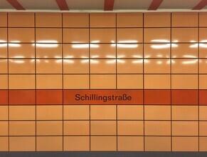 Claudio Galamini, U-Bahnhof Schillingstraße (Deutschland, Europa)
