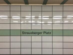 Claudio Galamini, U-Bahnhof Strausberger PLatz (Deutschland, Europa)