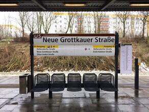 Claudio Galamini, U-Bahnhof Neue Grottkauer Straße (Deutschland, Europa)