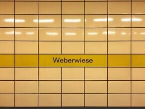 Claudio Galamini, U-Bahnhof Weberwiese (Deutschland, Europa)