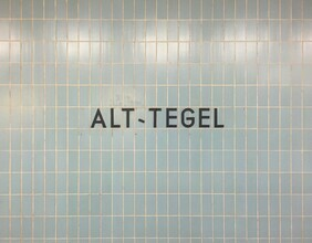 Claudio Galamini, U-Bahnhof Alt-Tegel (Deutschland, Europa)