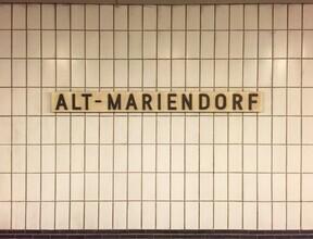 Claudio Galamini, U-Bahnhof Alt-Mariendorf (Deutschland, Europa)