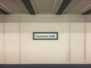 Claudio Galamini, U-Bahnhof Französische Straße (Deutschland, Europa)