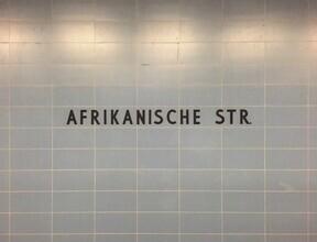 Claudio Galamini, U-Bahnhof Afrikanische Straße (Deutschland, Europa)