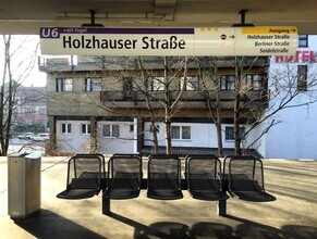 Claudio Galamini, U-Bahnhof Holzhauser Straße (Deutschland, Europa)