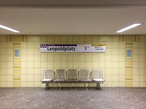 Claudio Galamini, U-Bahnhof Leopoldplatz (Deutschland, Europa)