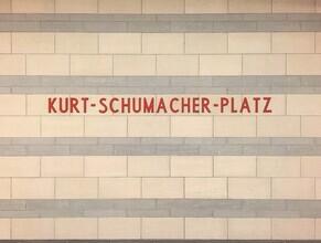 Claudio Galamini, U-Bahnhof Kurt-Schumacher-Platz (Deutschland, Europa)