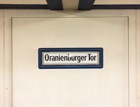 Claudio Galamini, U-Bahnhof Oranienburger Tor (Deutschland, Europa)