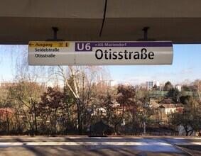 Claudio Galamini, U-Bahnhof Otisstraße (Deutschland, Europa)