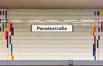 Claudio Galamini, U-Bahnhof Paradestraße (Deutschland, Europa)