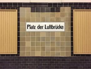 Claudio Galamini, U-Bahnhof Platz der Luftbrücke (Deutschland, Europa)