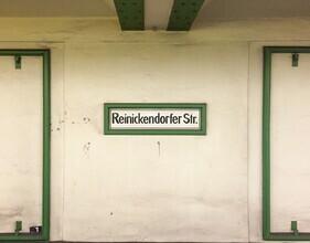 Claudio Galamini, U-Bahnhof Reinickendorfer Str. (Deutschland, Europa)