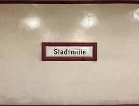Claudio Galamini, U-Bahnhof Stadtmitte (Deutschland, Europa)