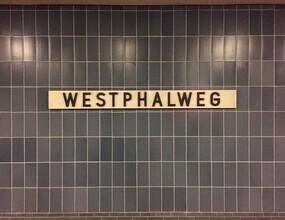 Claudio Galamini, U-Bahnhof Westphalweg (Deutschland, Europa)