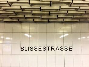 Claudio Galamini, U-Bahnhof Blissestrasse (Deutschland, Europa)