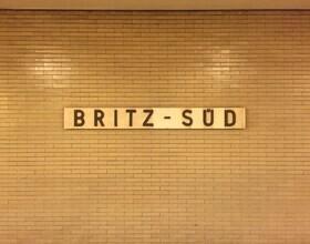 Claudio Galamini, U-Bahnhof Britz-Süd (Deutschland, Europa)