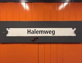 Claudio Galamini, U-Bahnhof Halemweg (Deutschland, Europa)