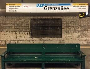 Claudio Galamini, U-Bahnhof Grenazallee (Deutschland, Europa)