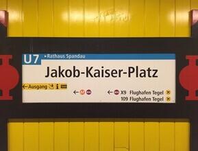 Claudio Galamini, U-Bahnhof Jakob-Kaiser-Platz (Deutschland, Europa)