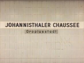 Claudio Galamini, U-Bahnhof Johannisthaler Chaussee (Deutschland, Europa)