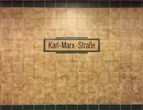 Claudio Galamini, U-Bahnhof Karl-Marx-Straße (Deutschland, Europa)