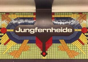 Claudio Galamini, U-Bahnhof Jungfernheide (Deutschland, Europa)