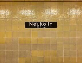 Claudio Galamini, U-Bahnhof Neukölln (Deutschland, Europa)