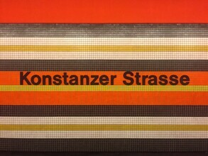 Claudio Galamini, U-Bahnhof Konstanzer Strasse (Deutschland, Europa)