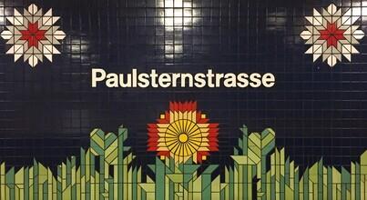 Claudio Galamini, U-Bahnhof Paulsternstrasse (Deutschland, Europa)