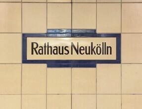 Claudio Galamini, U-Bahnhof Rathaus Neukölln (Deutschland, Europa)