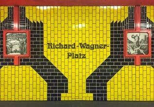 Claudio Galamini, U-Bahnhof Richard-Wagner-Platz (Deutschland, Europa)