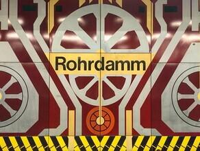 Claudio Galamini, U-Bahnhof Rohrdamm (Deutschland, Europa)