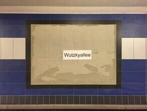 Claudio Galamini, U-Bahnhof Wutzkyallee (Deutschland, Europa)