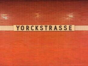 Claudio Galamini, U-Bahnhof Yorckstrasse (Deutschland, Europa)