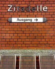 Claudio Galamini, U-Bahnhof Zitadelle (Deutschland, Europa)