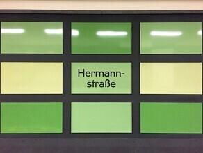 Claudio Galamini, U-Bahnhof Hermannstraße (Deutschland, Europa)