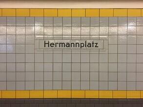Claudio Galamini, U-Bahnhof Hermannplatz (Deutschland, Europa)