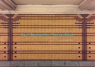 Claudio Galamini, U-Bahnhof Karl-Bonhoeffer-Nervenklinik (Deutschland, Europa)