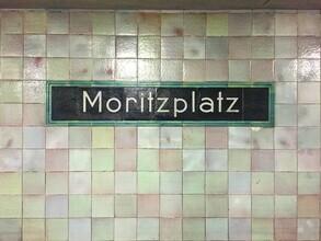 Claudio Galamini, U-Bahnhof Moritzplatz (Deutschland, Europa)