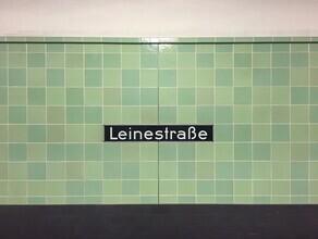 Claudio Galamini, U-Bahnhof Leinestraße (Deutschland, Europa)
