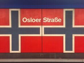 Claudio Galamini, U-Bahnhof Osloer Straße (Deutschland, Europa)