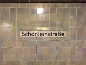 Claudio Galamini, U-Bahnhof Schönleinstraße (Deutschland, Europa)
